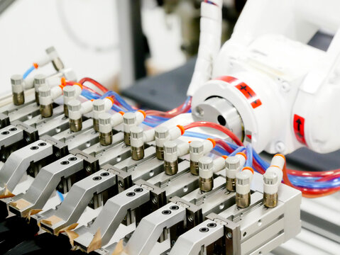 Close-up Of Machinery