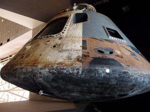 Apollo Moon Capsule and Heat Shield