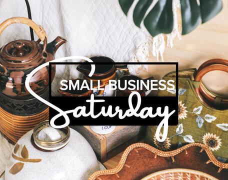 Happy Small Business Saturday Shop Small