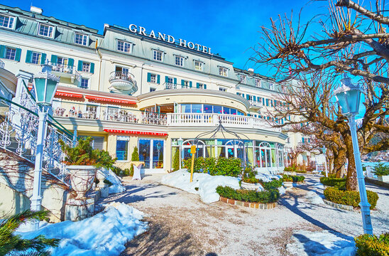 Grand Hotel, on February 28 in Zell am See, Austria