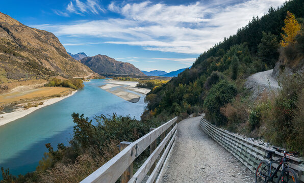 Twin Rivers Trail, Queenstown Area, New Zealand
