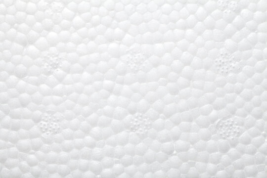 Close-up of styrofoam texture background