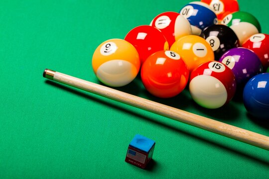 Pool game.
