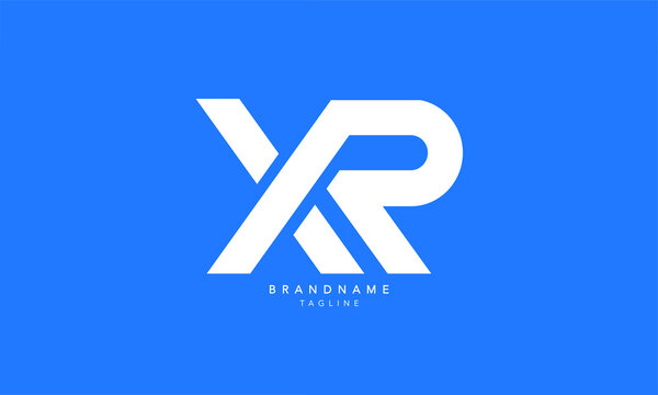 Alphabet letters Initials Monogram logo XR, RX, X and R