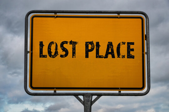 Lost Place signpost