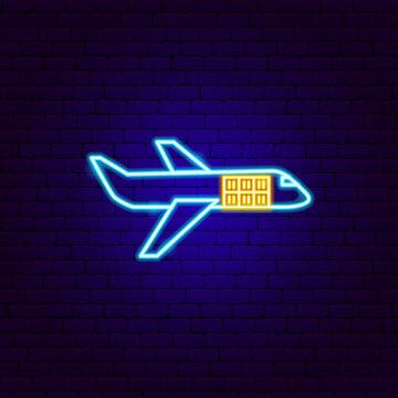 Cargo Plane Neon Sign
