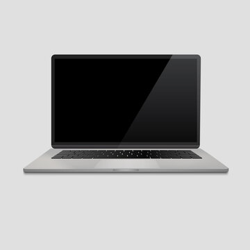 laptop screen mockup, macbook pro mockup, macbook air vector. laptop mockup