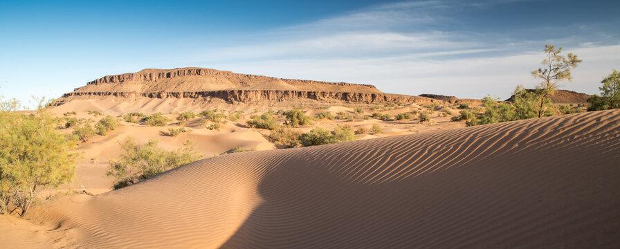 Vallée du désert marocain