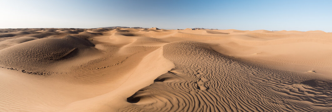 Sculpture des dunes par le vent