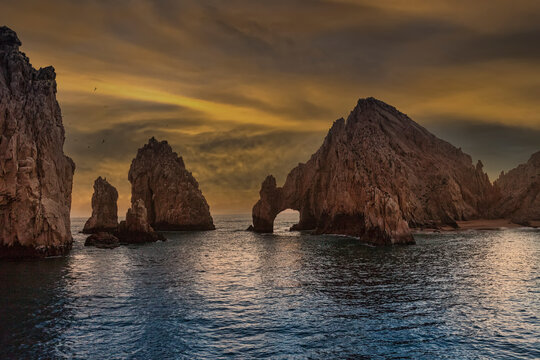 Rock Formation in Cabo San Lucas, Mexico