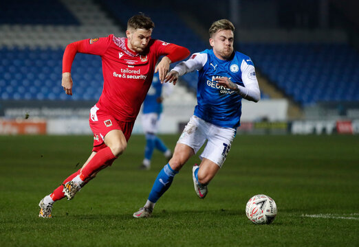 FA Cup Second Round - Peterborough United v Chorley