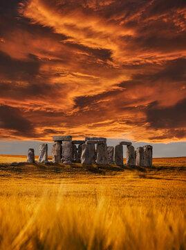The amazing stonehenge monument