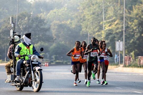 Airtel Delhi Half Marathon in New Delhi, India