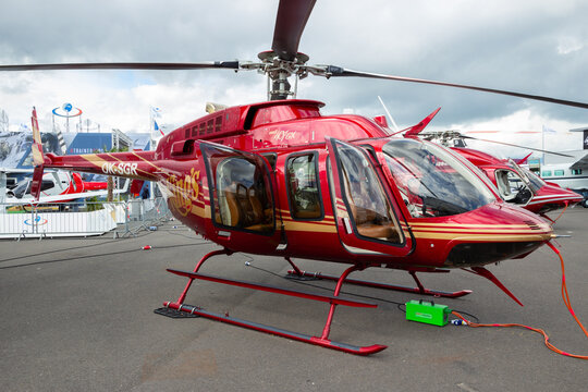 Bell 407GX helicopter.