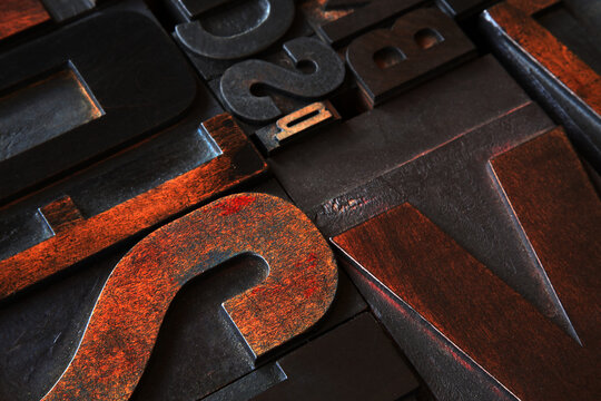 real color calligraphy letters texture;