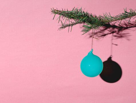 Minimal Colorful Christmas Ornament