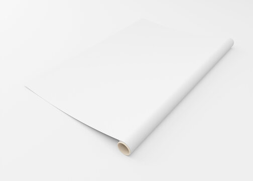 wrapping paper mock up