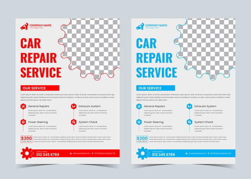 Automobile flyer, Service car, Oil change,  Auto repair, Car service, car accessories, car parts,
