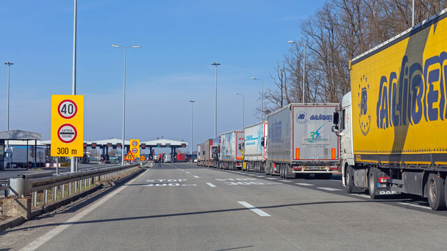 EU Border Crossing Truck