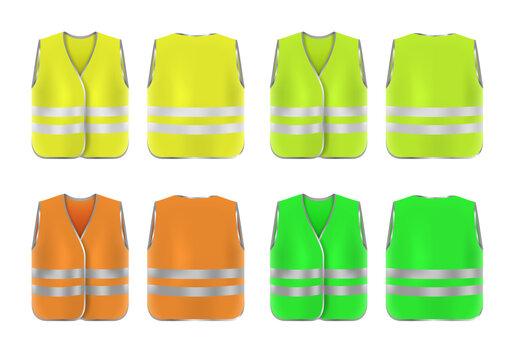 Safe Vest Reflective Guard Shirt Protective Jacket