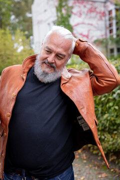 Rainer Senior mit Tattoos und Stylefaktor
