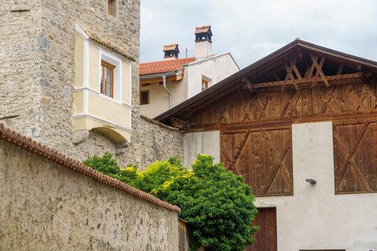 Glorenza, historic village in Venosta valley