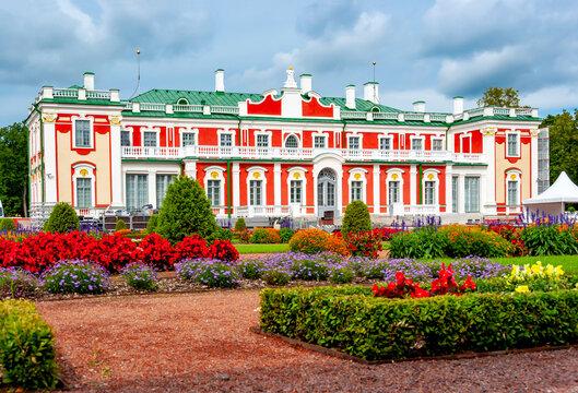 Kadriorg palace and gardens in Tallinn, Estonia