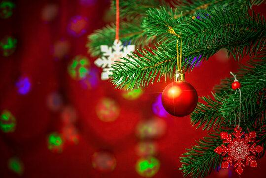 Christmas and flashlights