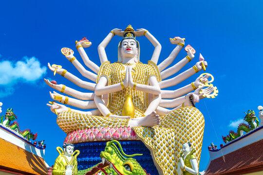 Statue of Shiva at Samui, Thailand