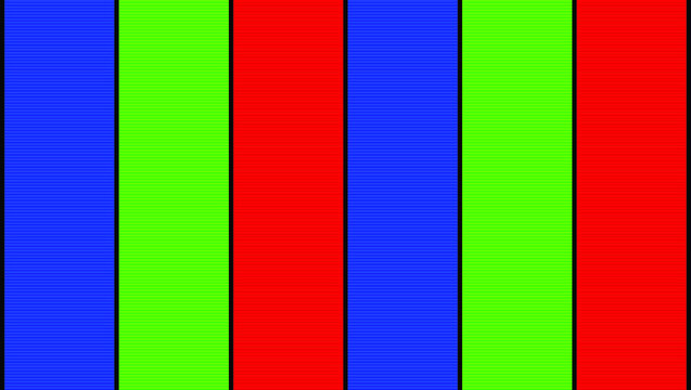A Vector Illustration of 3 Color Vertical Stipes in Blue, Green, and Red for Background