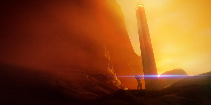 explorer at monolith science fiction