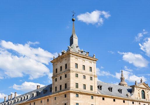 El Escorial Palace outside Madrid, Spain