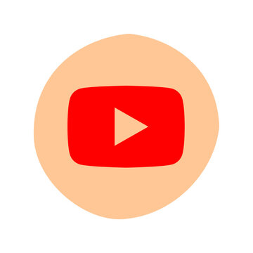 YouTube logo. YouTube is a video sharing website. The service was created by PayPal employees. YouTube web app . Kharkiv, Ukraine - October, 2020