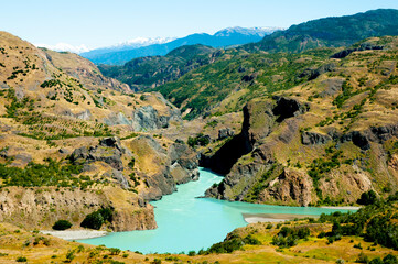 Wall Mural - Cochrane River - Patagonia - Chile