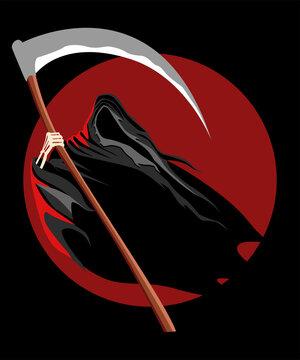 Grim Reaper Vector Illustration