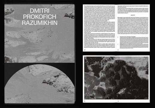Cultural Cinema Photomagazine Book Layout