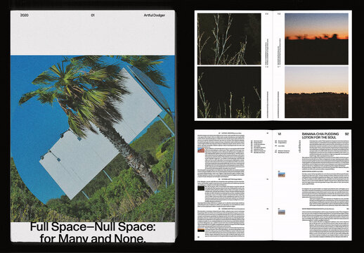 Photo Book and Text Layout