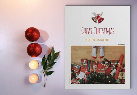 Christmas Gift Catalogue Layout