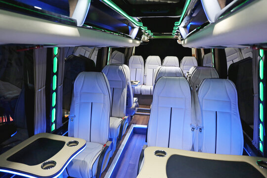 Coach Bus Cabin