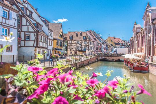 Petite Venise de Colmar, Quai de la Poissonnerie, Alsace, France