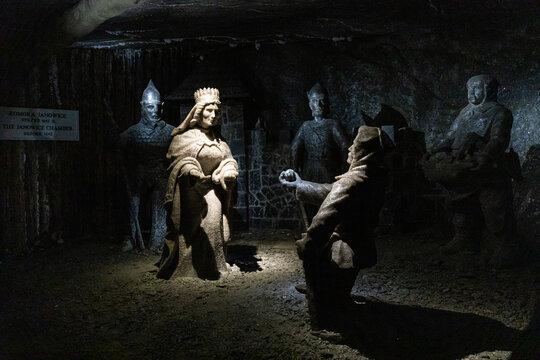 Wieliczka salt mines - Poland