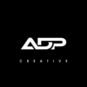 ADP Letter Initial Logo Design Template Vector Illustration