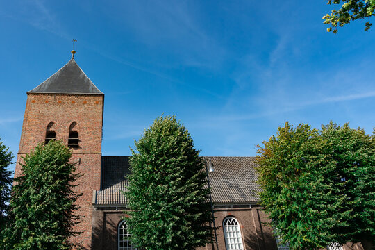 Willibrord Church in Borger. The Netherlands