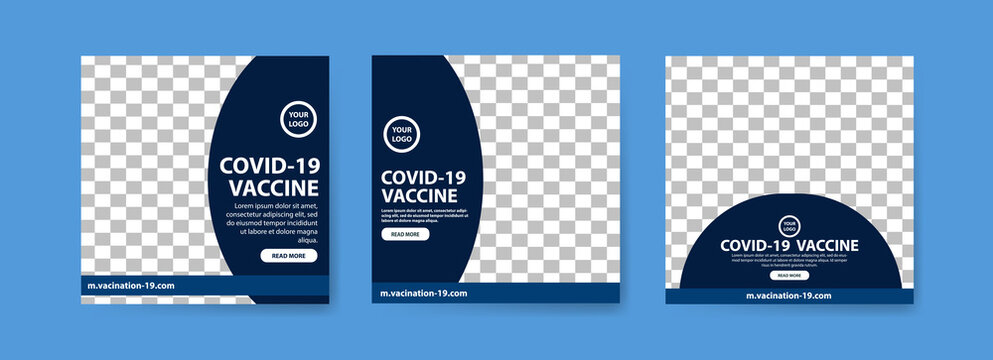Collection of covid-19 vaccine social media posts. vaccine for covid-19. for the socialization of the covid-19 virus vaccination.