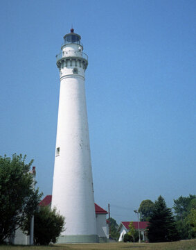 Great Lakes Lighthouses, Wind Point, Wisconsin