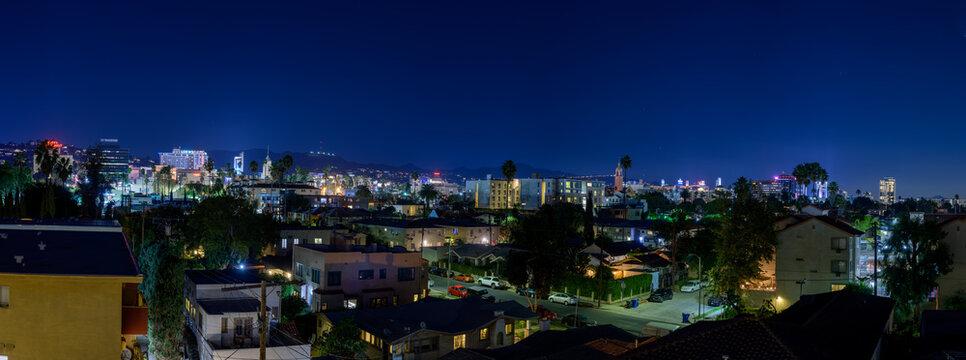 Hollywood panoramic view