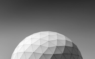 Fototapeta PVC geodesic dome in park, Tehran