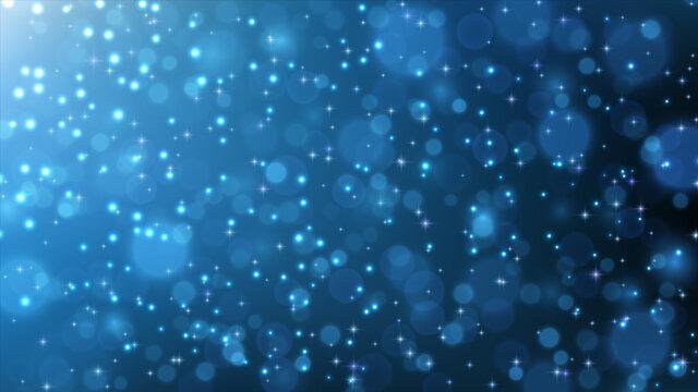 Blue glitter stardust background. Vector illustration.