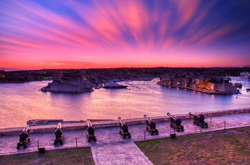 Three Cities, Vittoriosa, Senglea and Cospicua. Malta