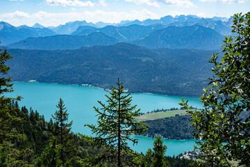 Walchensee in Bayern